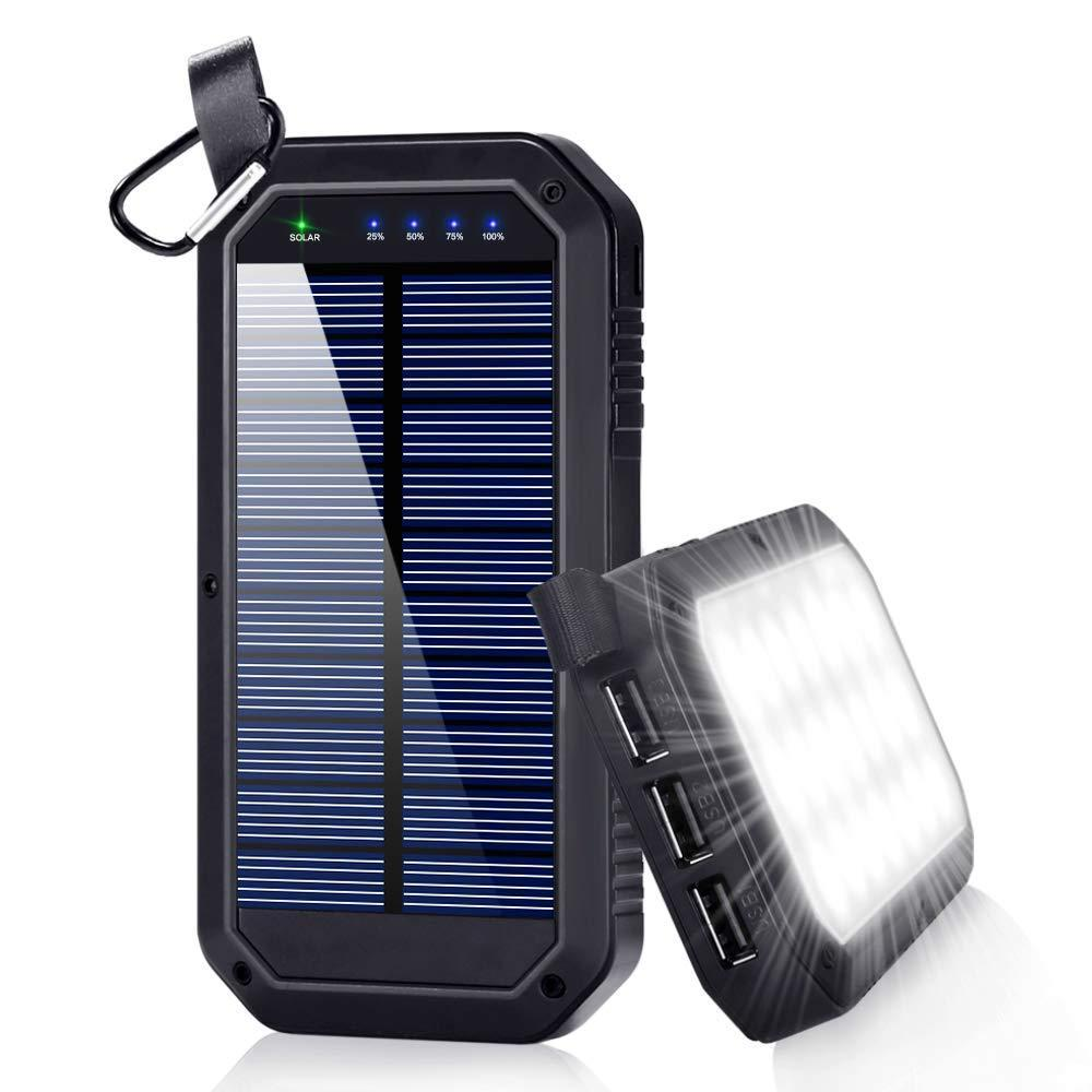 Different Types of Solar Powered Phone Chargers That Can Be Used for Outdoor Purposes