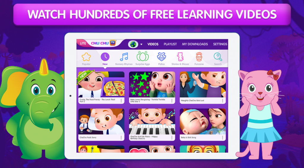 Best nursery rhymes apps and games for kids