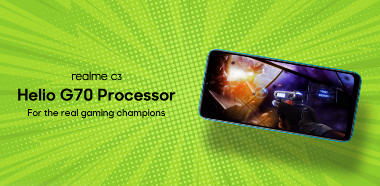 Realme C3 will have the world's first Helio G70 processor