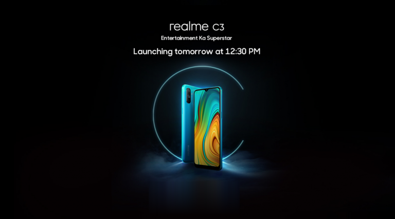 Realme C3 to be launched on February 6 at 12:30 PM