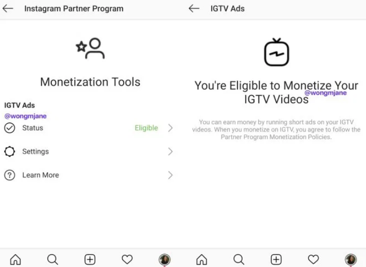 Instagram prototypes letting IGTV creators monetize with ads – Report