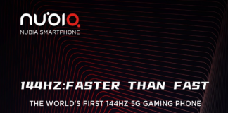 Nubia to launch the Red Magic 5G with a 144Hz display at MWC 2020