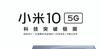 Xiaomi Mi 10 and Mi 10 Pro official posters leaked