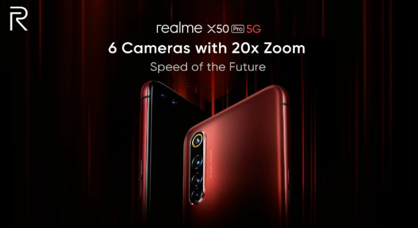 Realme X50 Pro 5G to Launch in India Today: Specifications, How to Watch Live Stream and more