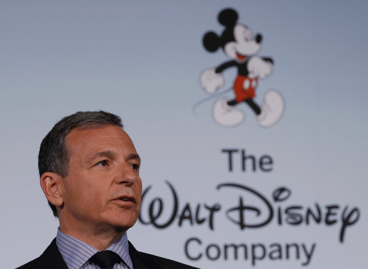 Walt Disney's Robert Iger steps down as CEO