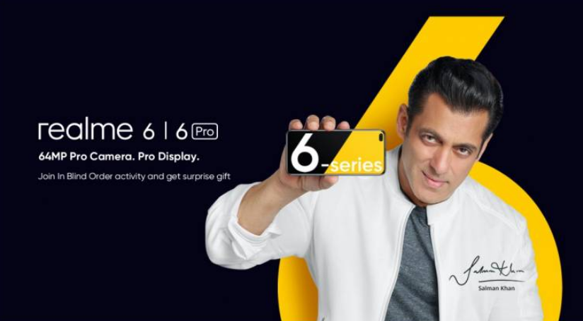 Realme 6 series phones will debut in India on March 5