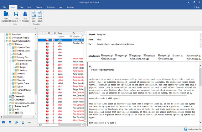 How to Recover Outlook PST Data with Stellar Repair for Outlook