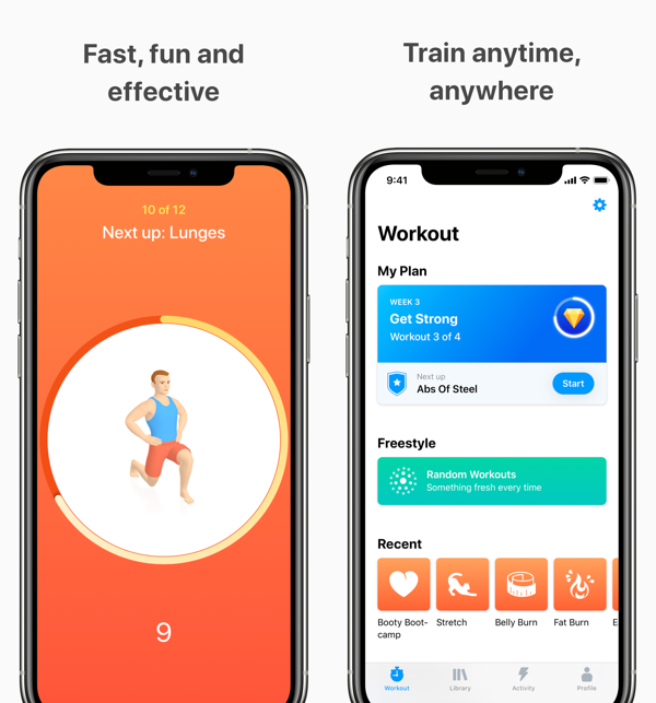 15 Best Free Workout Apps for iPhone