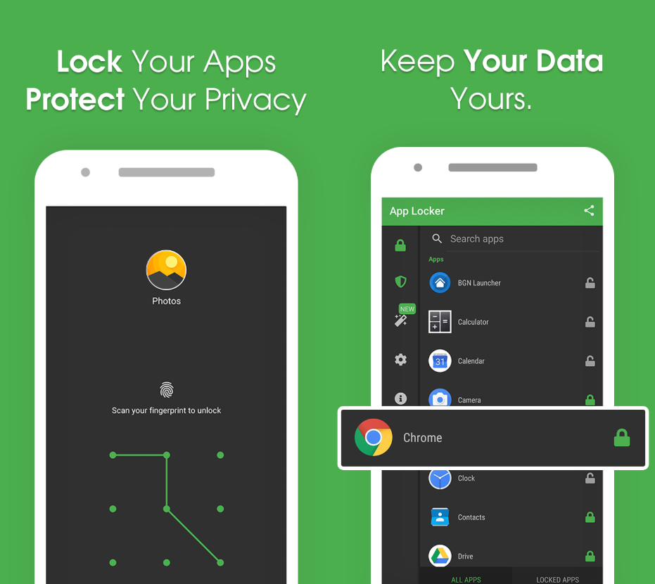 7 Best Fingerprint lock Apps