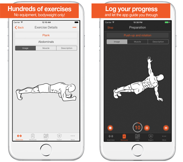 15 Best Free Workout Apps for iPhone in 2020