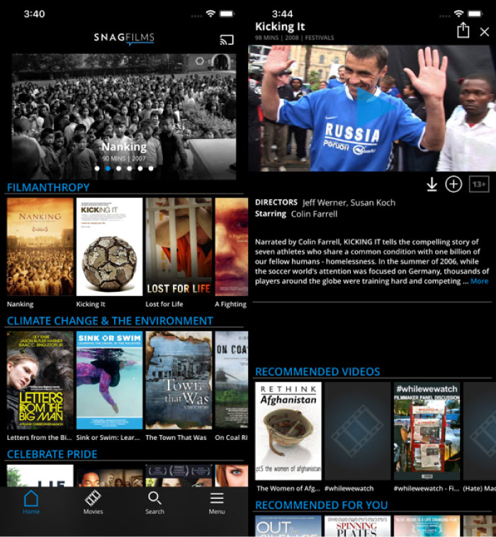 Best Free Movie Apps for iPhone
