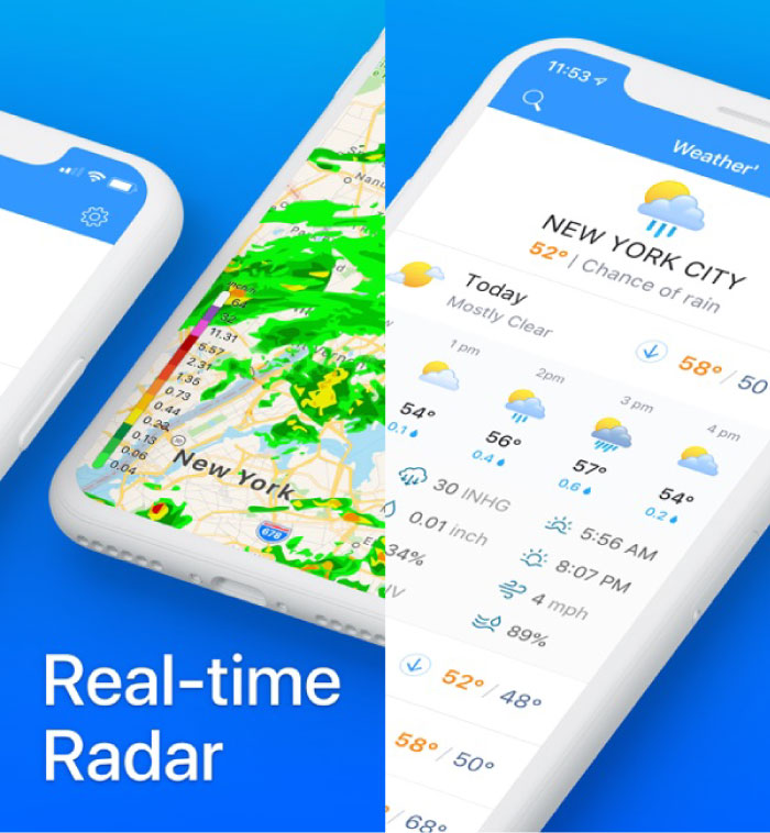 Best Free Weather Apps for iPhone