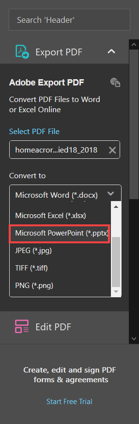 How to Convert PDF to PPT: Turn PDF to PPTX or PPT File