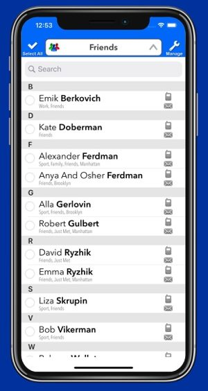 How to delete multiple contacts on iPhone