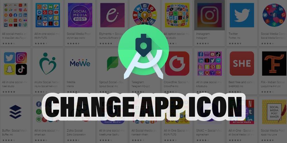 How to Change App icon in Android Studio « 3nions