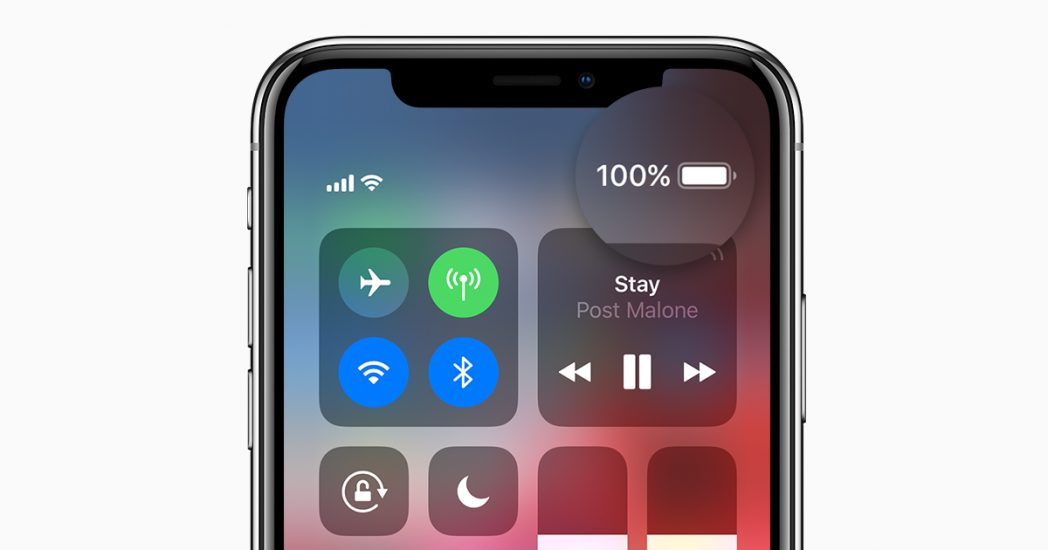 Turn on Battery Percentage on iPhone XR