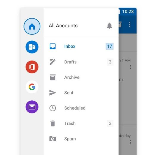 Check Hotmail Junk Mail on Android
