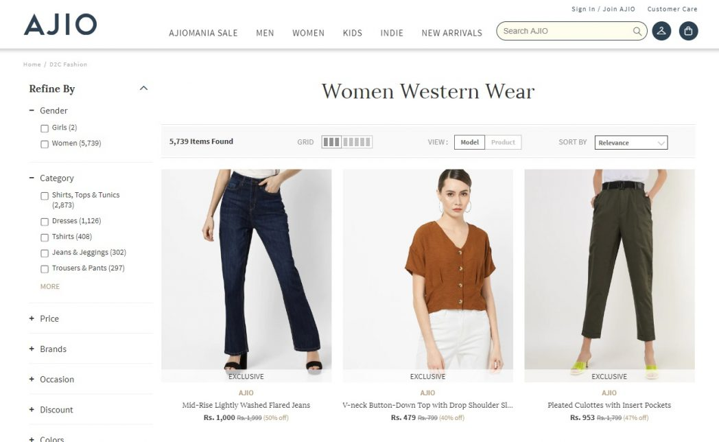 Shein Alternatives in India
