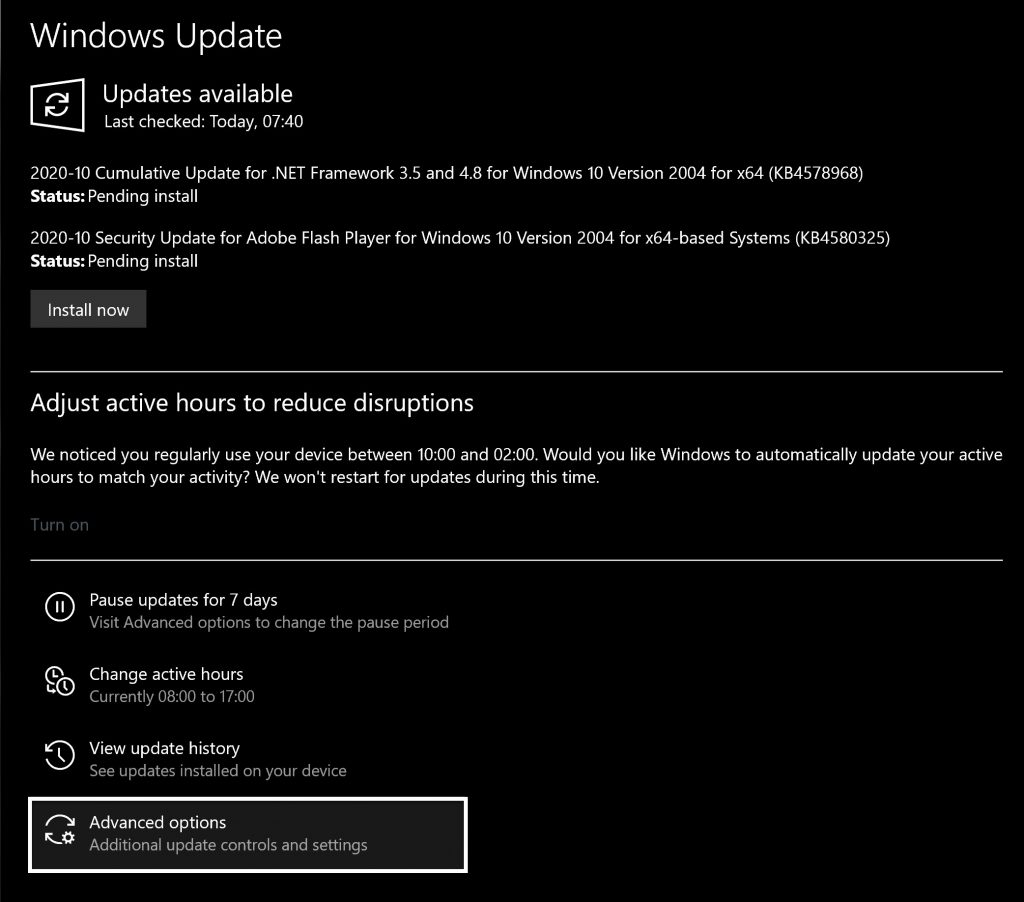 How to permanently disable Windows 10 Updates