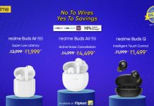 Flipkart offers massive discounts on Realme's Truly Wireless Earbuds
