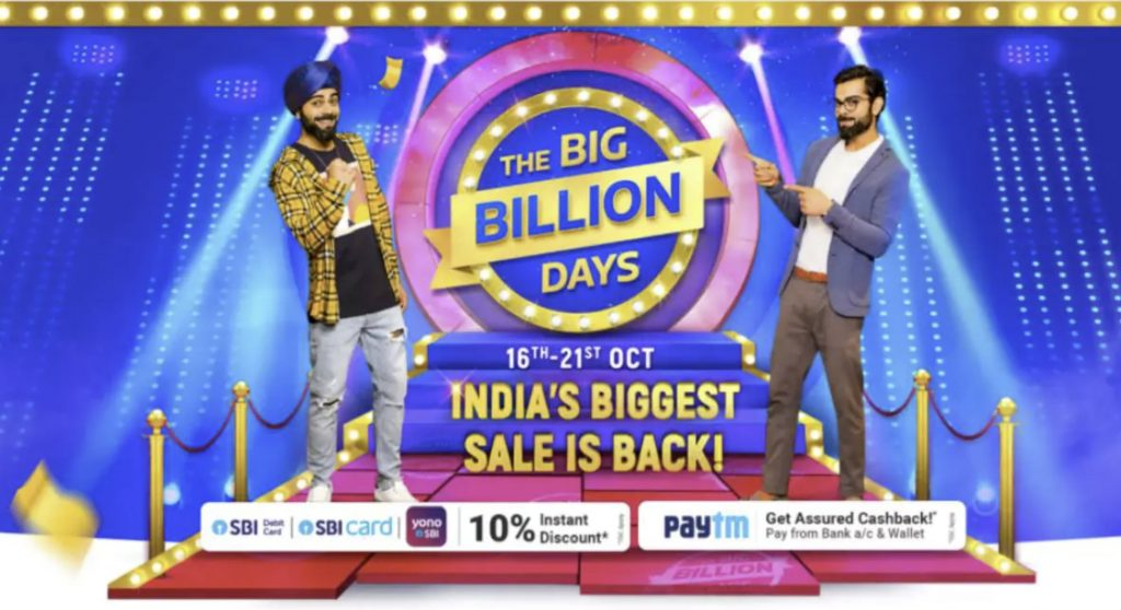 Flipkart's Big Billion Days sale is now live; Best offers on various tech products