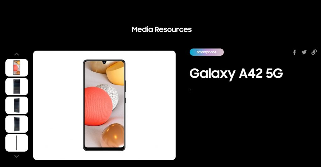 Samsung Galaxy A42 5G Launch Imminent; Official Listing Suggests