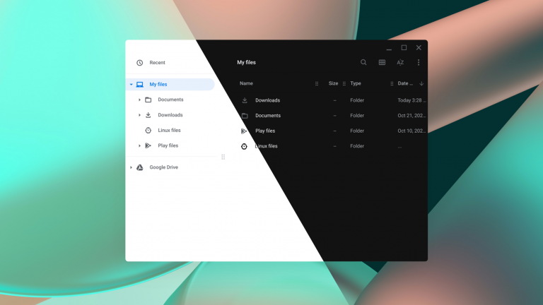The dark mode is headed to Chrome OS
